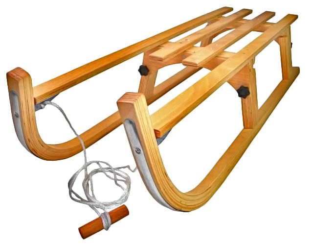 Санки Alpen Wooden Foldable Sled 110