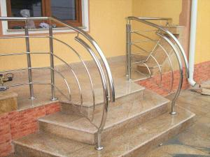 Фото Перила Перила и ограждения из нержавеющей стали