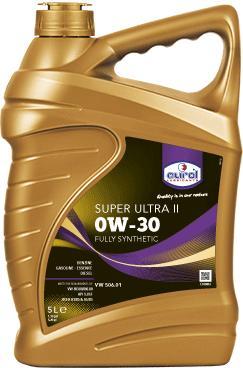 Фото Eurol, Синтетическое моторное масло Синтетическое моторное масло Eurol Super Ultra II 0W30-5L