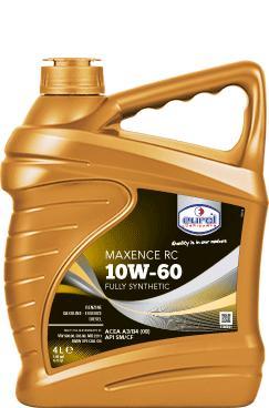 Фото Eurol, Синтетическое моторное масло Синтетическое моторное масло Eurol Maxence RC 10W60-4L