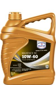 Синтетическое моторное масло Eurol Maxence RC 10W60-4L