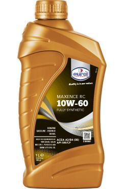 Синтетическое моторное масло Eurol Maxence RC 10W60-1L