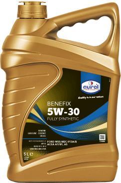 Фото Eurol, Синтетическое моторное масло Синтетическое моторное масло Eurol Benefix 5W30-5L