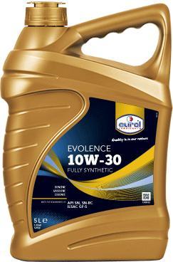 Фото Eurol, Синтетическое моторное масло Синтетическое моторное масло Eurol Evolence 10W-30-5L