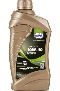 Фото Eurol, Полусинтетическое моторное масло Полусинтетическое моторное масло Eurol Turbosyn 10W-40-1L