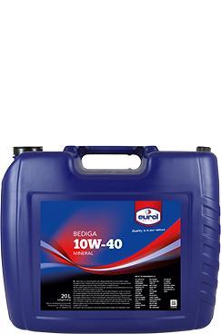 Минеральное моторное масло Eurol Bediga 10W-40-20L