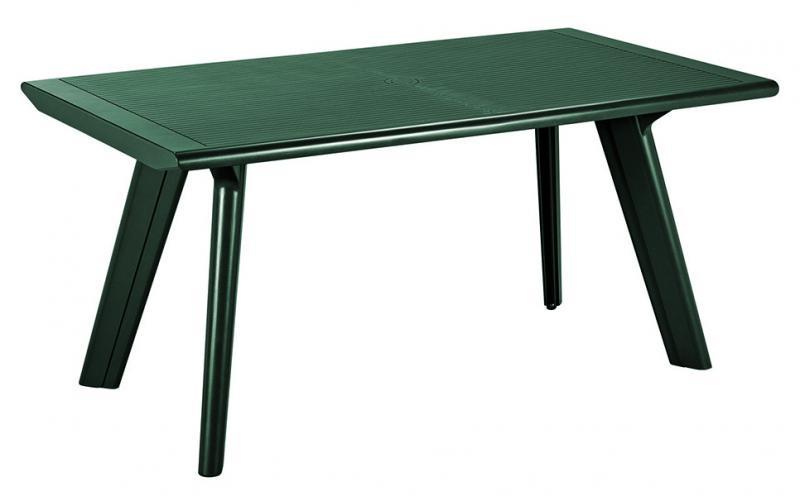 Стол пластиковый Dante, зеленый