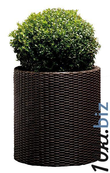 Горшок для цветов Cylinder Planter Large, коричневый Товары для парков аттракционов на Электронном рынке Украины