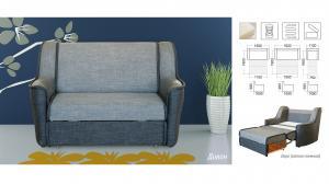 Фото Диваны, кровати и матрасы , Диваны производителя Мебель-сервис Малютка 1.6 (1)