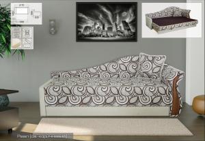 Фото Диваны, кровати и матрасы , Диваны производителя Мебель-сервис Марс 1