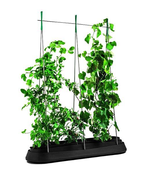 Грядка для растений G-Row, серая