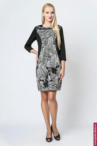Платье Modern Line Black&White 2