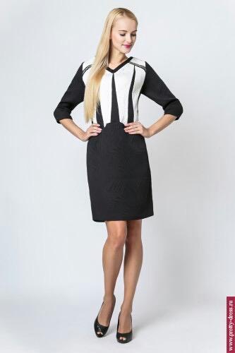 Платье Modern Line Black&White