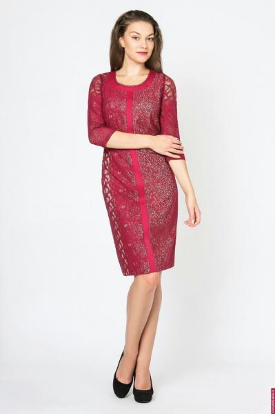 Платье Modern Line red