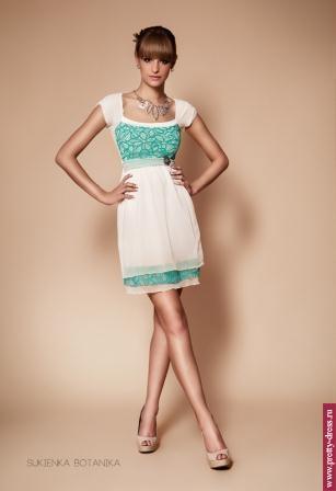 Платье Be-3 Botanika