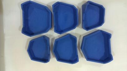 Набор силиконовых форм для цоколей гипсовых моделей