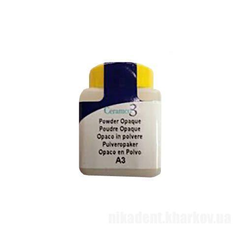 Фото Для зуботехнических лабораторий, МАТЕРИАЛЫ, Керамические массы, CERAMCO 3  Ceramko 3 - Опакер порошок 28,4g (1oz)