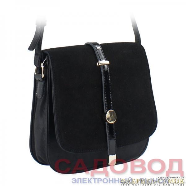 Женская сумка арт. 500-P101Z-BLK