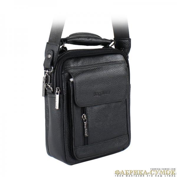 Мужская сумка арт. 186-2617A-BagBerry-BLK