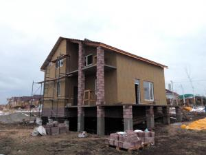 Фото Утепление стен домов Утепление дома