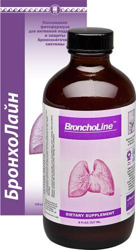 БронхоЛайн, коллоидная фитоформула (улучшает функции дыхания)