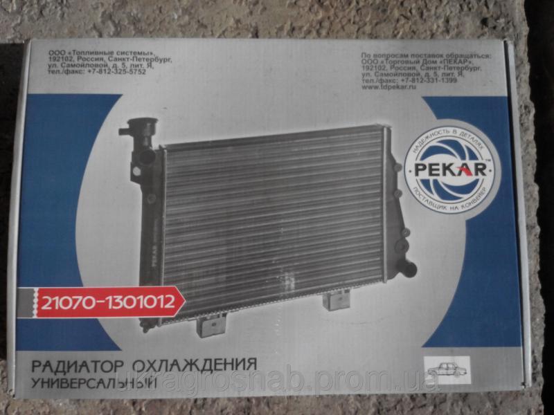 Фото  Радиатор ВАЗ-2104, 2105, 2107 и их модификации (21070-1301012) (пр-во ПЕКАР)