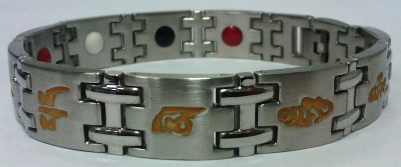 Стальной магнитный браслет FG3