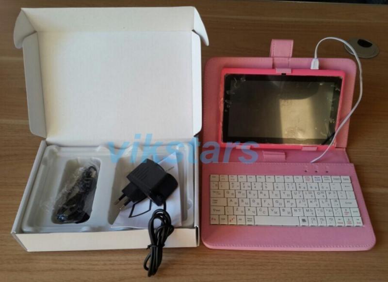 Новый планшет PC 3 г wi-fi 7 дюймов андроид четырехъядерных процессоров планшет Allwinner A33 андроид 4.4 камера WIFI OTG емкостный экран