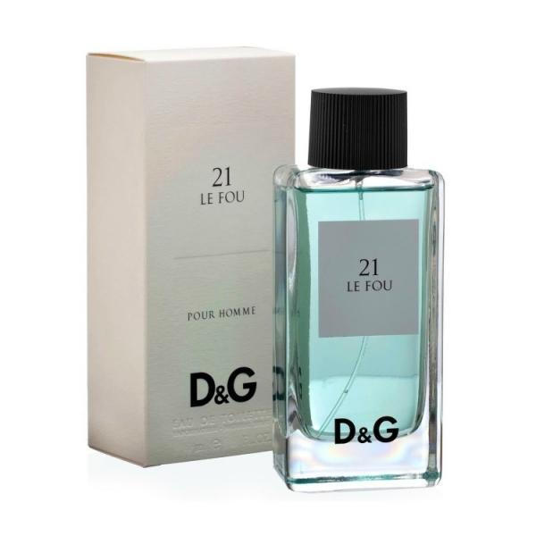 Туалетная вода Dolce & Gabbana 21 Le Fou, 100ml