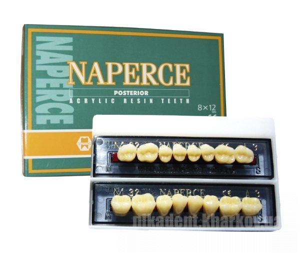 Фото Для зуботехнических лабораторий, МАТЕРИАЛЫ, Зубы акриловые Зубы Уamahachi (жев.планка 8 зубов)