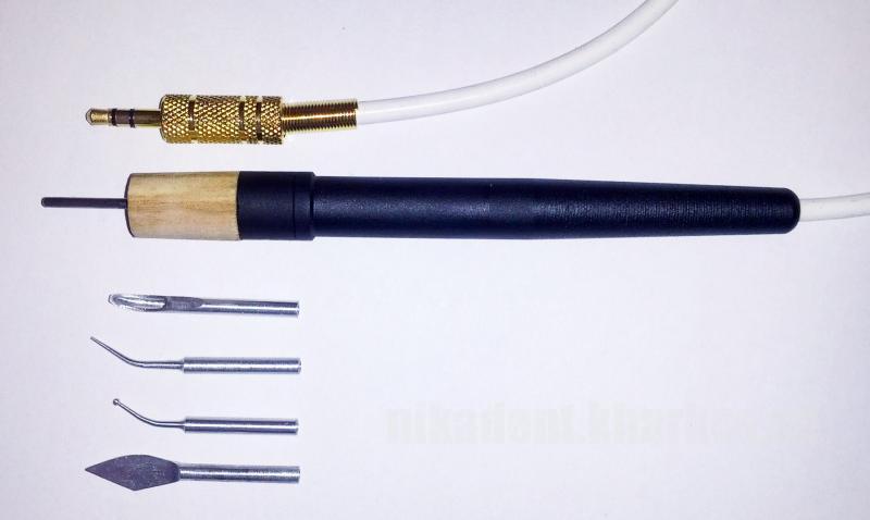 Фото Для зуботехнических лабораторий, ОБОРУДОВАНИЕ Ручка электрошпателя Dokatech