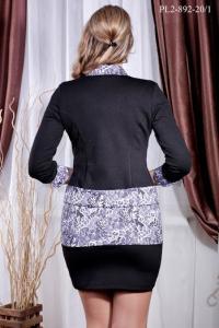 Фото Украина Женский костюм платье+жакет