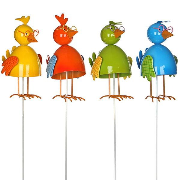 Набор декора для сада Цыплята, 4 шт.