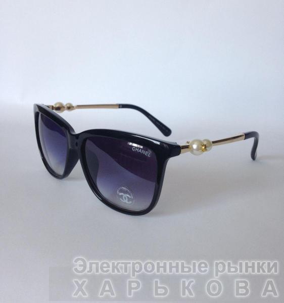 0001  Женские солнцезащитные очки Chanel - Сток аксессуаров на рынке Барабашова