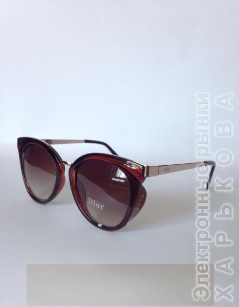 0009  Женские солнцезащитные очки DIOR - Сток аксессуаров на рынке Барабашова