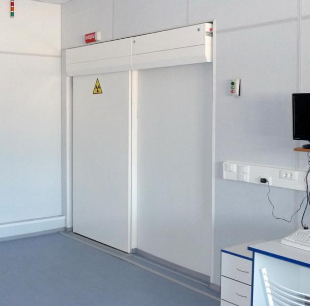 Рентгенозащитные двери Роси