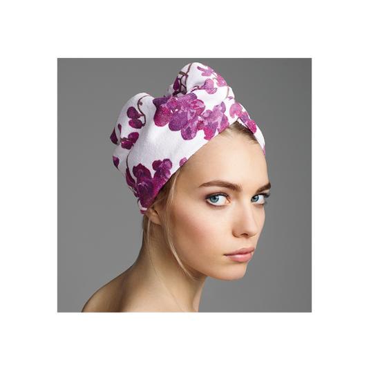 Полотенце-тюрбан для волос «Орхидея»28745