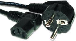 Кабель питания для ПК  угловой (mark 0.75mm on cable)  CEE 7/7 - IEC C13 евровилка под углом 90 гр., длина 1,8 м.