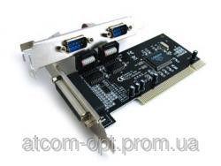 Контроллер PCI Combo Parallel+Serial-PCI (LPT+Com) 2s+1p  (WCH 352  chipset)
