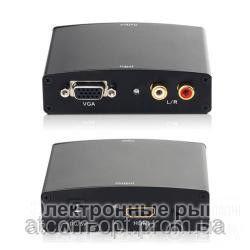 VGA TO HDMI CONVERTER HDV01 - Аудио-видео кабели, переходники, разъемы на рынке Барабашова