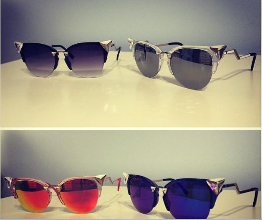 0033 Женские солнцезащитные очки Fendi