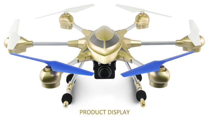 Квадрокоптер с камерой для FPV большой 53х54см, Pathfinder Hexacopter