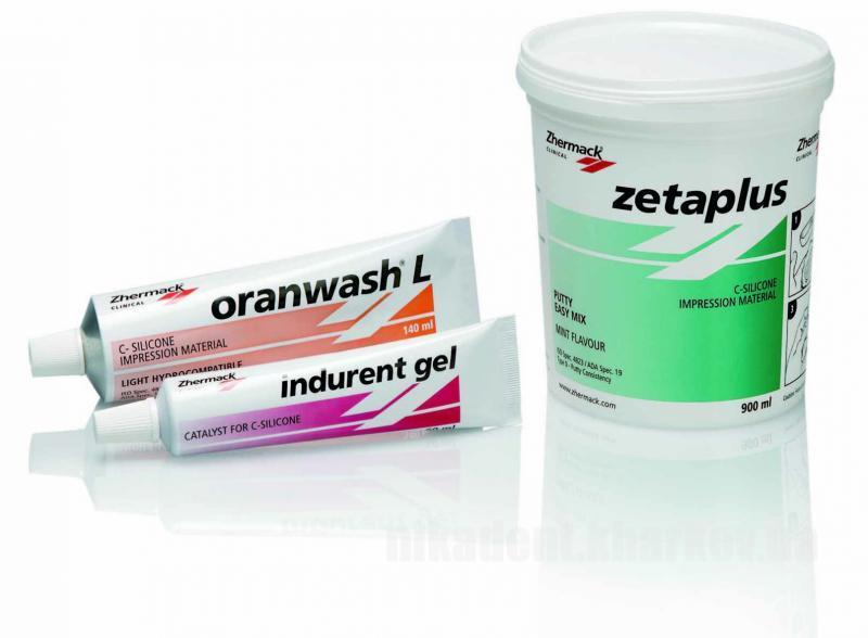 Фото Для стоматологических клиник, Материалы, Оттискные материалы Zeta plus (Зета плюс -Набор) 900 мл.