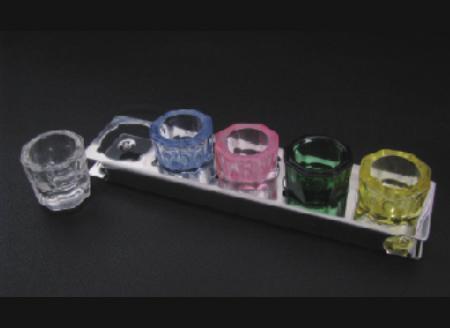 Подставка металлическая для склянок ( на 5шт)