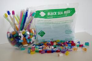 Фото Для стоматологических клиник, Расходные материалы Насадки слюноотсоса Black Sea Med (уп 100шт). Italy