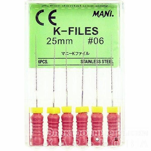 Mani K-Files 06,08 ультратонкие - Эндоинструменты для стоматологических клиник на рынке Барабашова