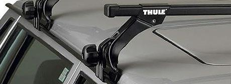Багажники для автомобилей с водостоками