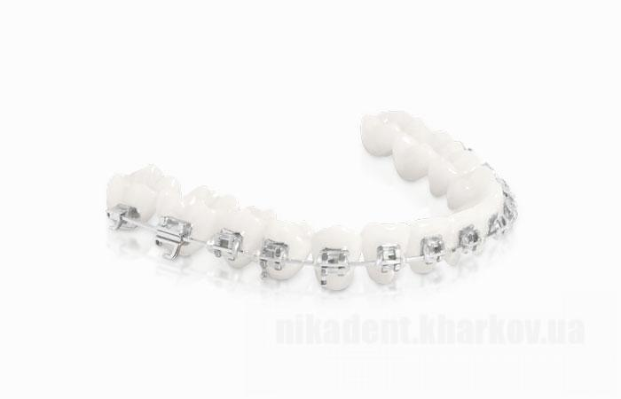Фото Для стоматологических клиник, Ортодонтия, Брекет-системы Брекеты металлические (комплект 20шт)