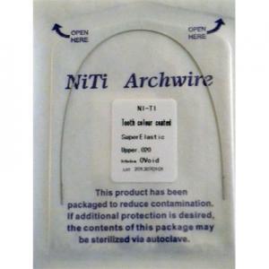 Дуги NiTi круглые верх белые (1шт)