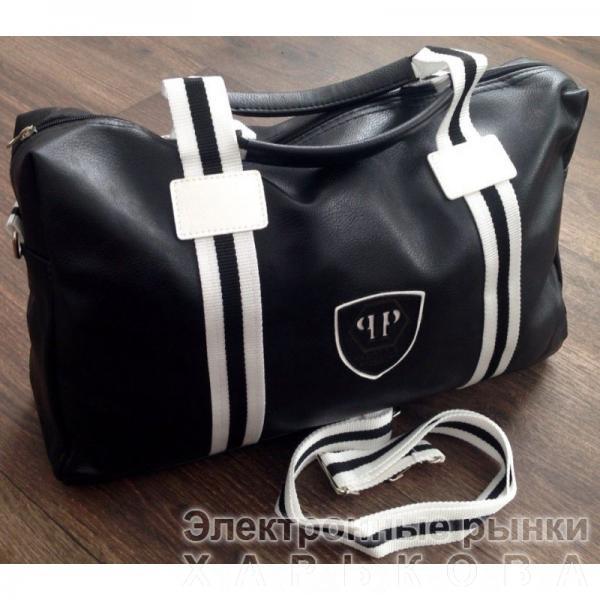 38caa13e5946 0001 СУМКА Philipp Plein ЧЕРНАЯ - Дорожные сумки и чемоданы на рынке  Барабашова